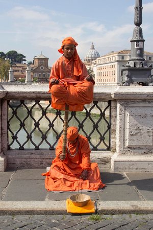 Meditation in the Streets of Rome
